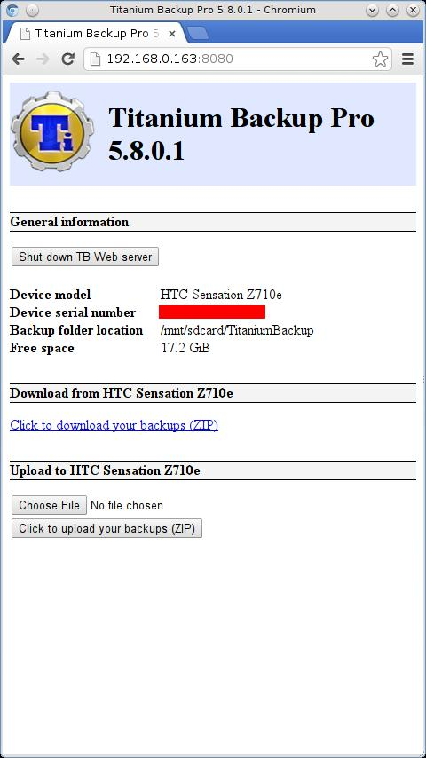 Titanium Backup PRO Key ★ root - screenshot