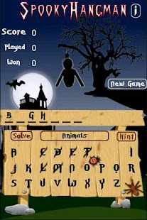 Spooky Hangman- screenshot thumbnail