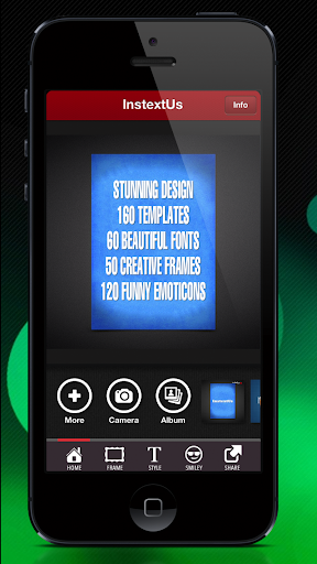 InstextUs - TEXT for Instagram