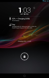DashClock - Islamic Reminders- screenshot thumbnail