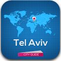 Tel Aviv City Guide Map Hotels icon