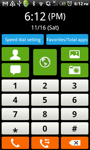 Feature Phone Launcher