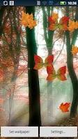 Screenshot of Fall Leaf Butterflies DEMO
