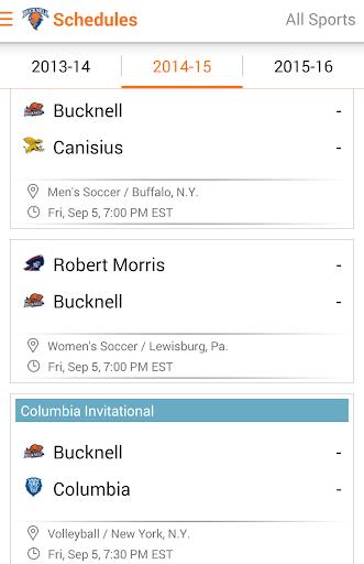 玩運動App|Bucknell Bison Athletics: Plus免費|APP試玩