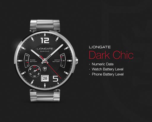 Dark Chic watchface by Liongat