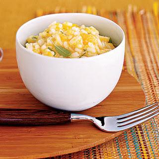 Squash and Roasted-Garlic Risotto