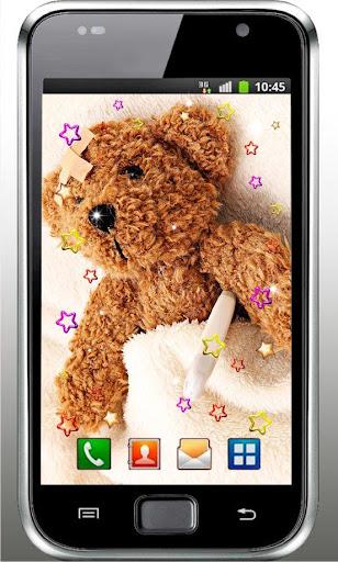 Teddy Bear Free live wallpaper