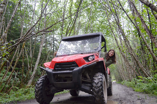 ATV-tour-Glacier-Bay-Alaska - Taking part in an all-terrain vehicle tour in Glacier Bay, Alaska.