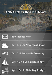 Annapolis Boat Shows - screenshot thumbnail