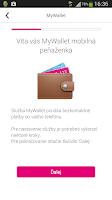 Screenshot of MyWallet Mobilná peňaženka