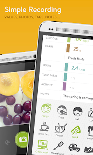 Diabetes Logbook by mySugr - screenshot thumbnail