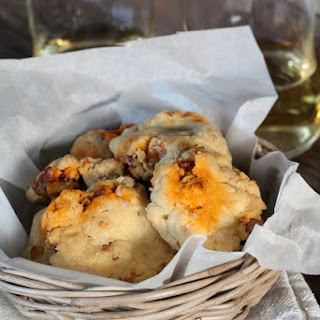 Savory Chorizo and Walnut Cookies.