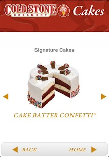 Cold Stone Cakes - screenshot thumbnail