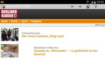 Screenshot of Deutsche Zeitungen & Magazine