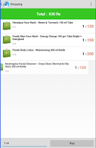 NFC Shopping screenshot 3
