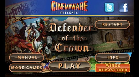 Defender of the Crown Screenshot 1