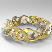 Bracelet Twisted Mesh 7