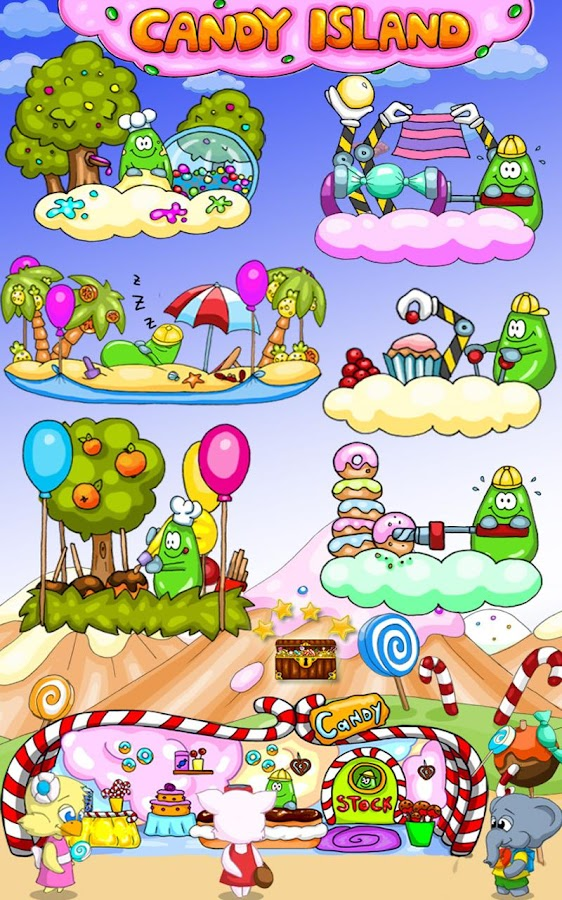 Candy Island Free: Sweet Shop- screenshot