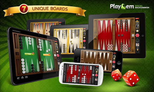 PlayGem 雙陸棋 Backgammon 双陆棋