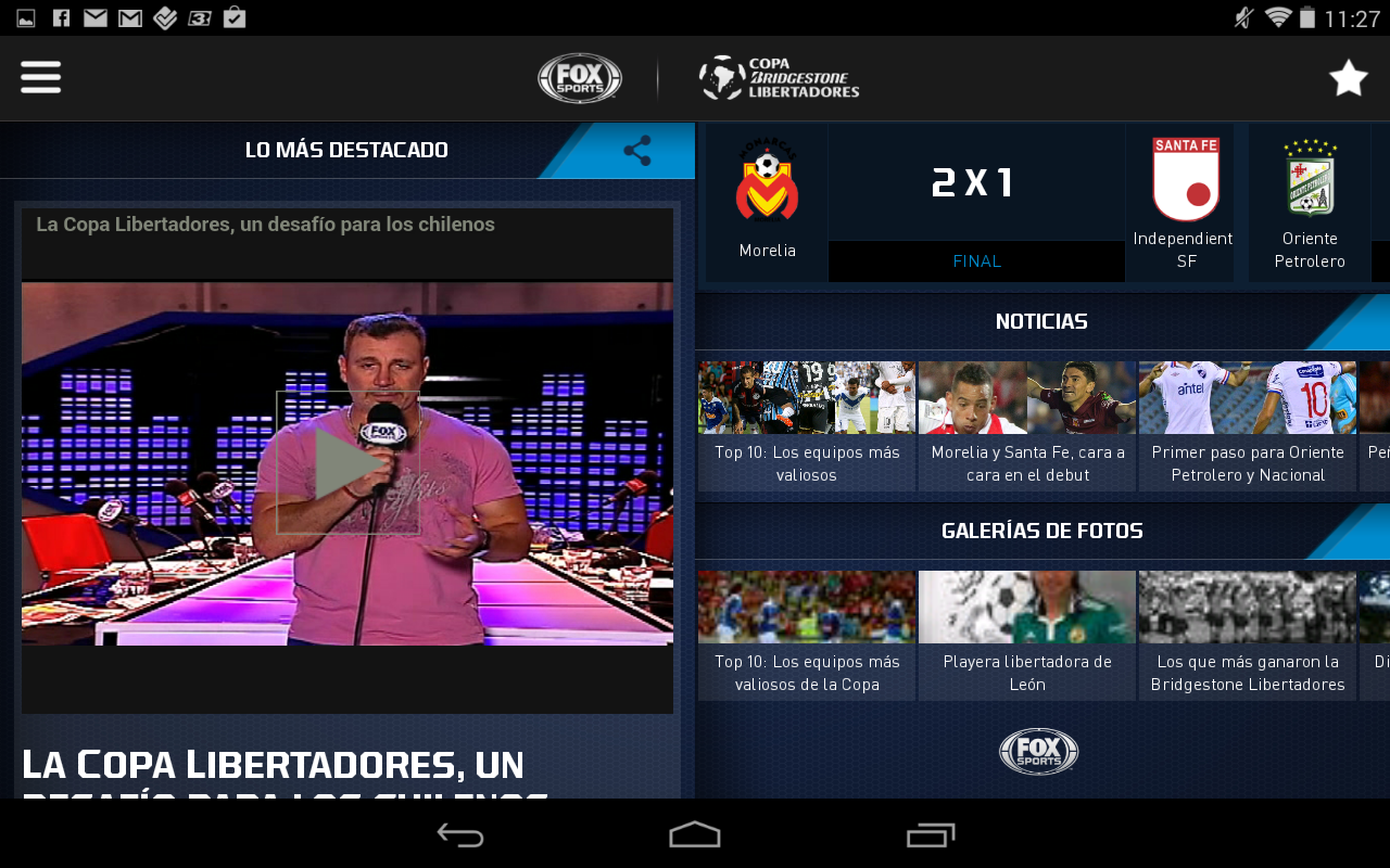 Copa Bridgestone Libertadores - screenshot