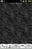 Screenshot of Black Theme Go Launcher EX