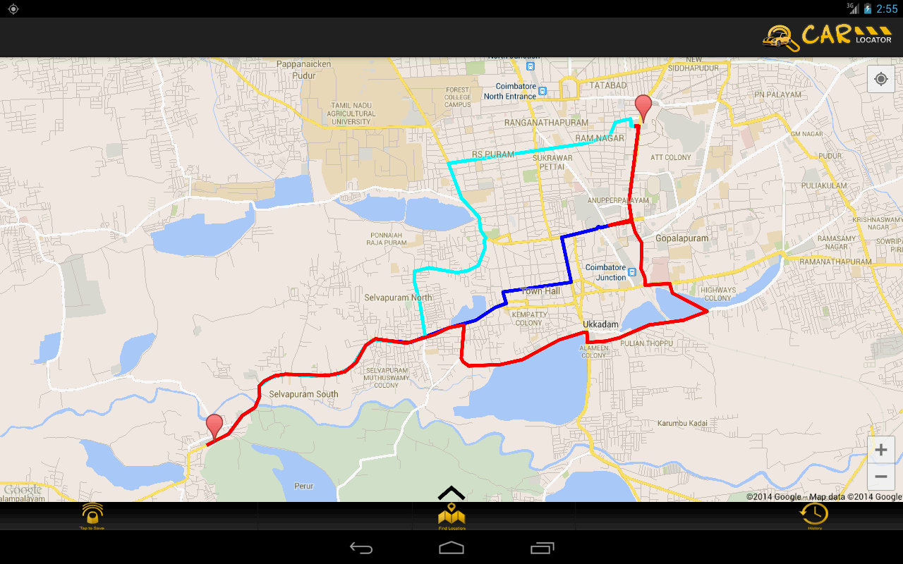 Gps Address Locator : Gps car locator android apps on google play