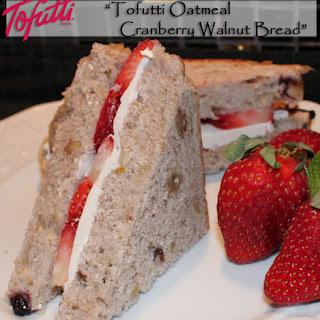 Tofutti Oatmeal Cranberry Walnut Bread