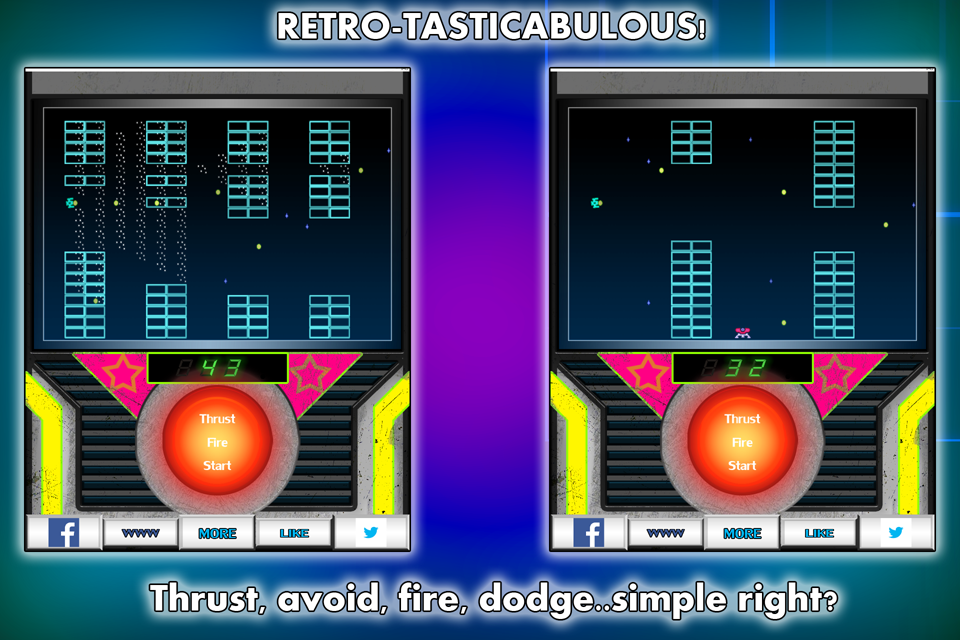 AstroFlaps space flappy FREE- screenshot