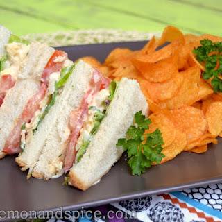 Eggsalad Sandwich & Crisps