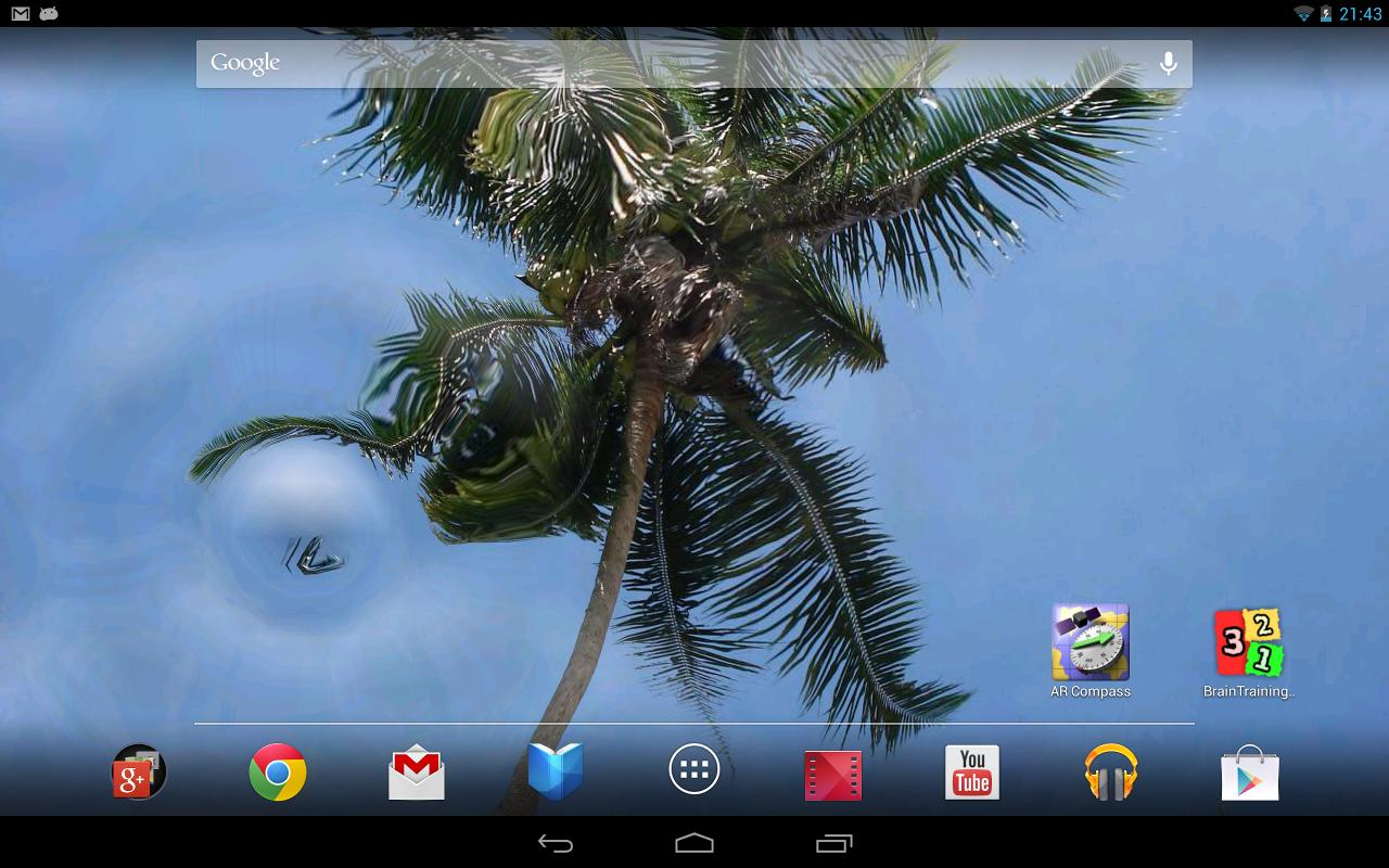 water touch parallax live wallpaper android apps on