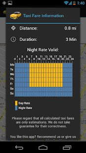 Taxi-Calculator - screenshot thumbnail