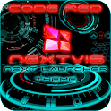 Avanti Launcher Code Red 3D icon