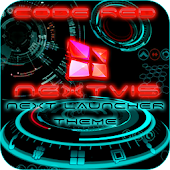 Next Launcher Code Red 3D