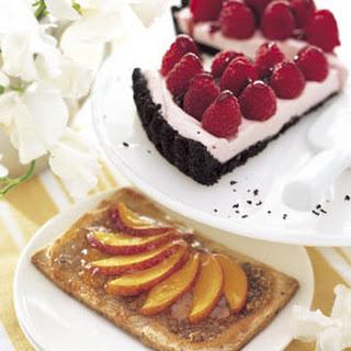 Raspberry-Chocolate Tart
