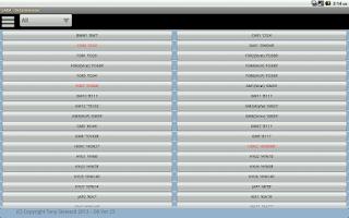 Screenshot of LARA Lock Decoder Assistant
