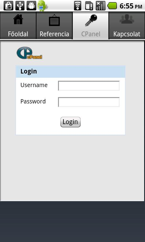 Domain - screenshot