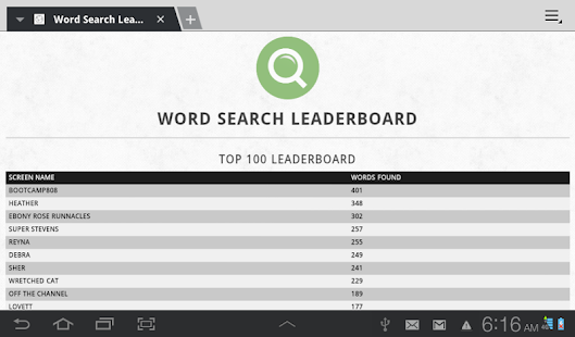 Word Search WordWheel- screenshot thumbnail