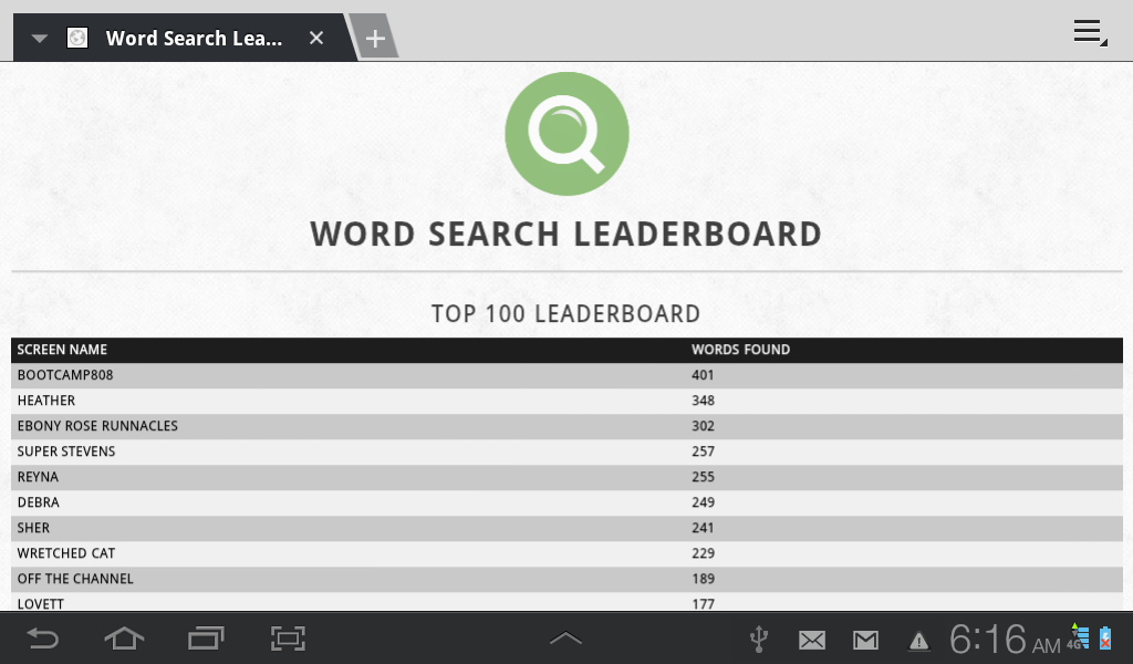 Word Search WordWheel- screenshot
