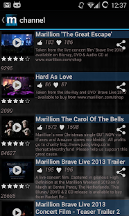 Marillion - Official App - screenshot thumbnail