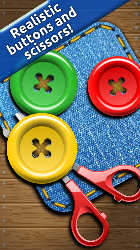Buttons and Scissors - screenshot