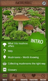 Mushrooms PRO - NATURE MOBILE- screenshot thumbnail