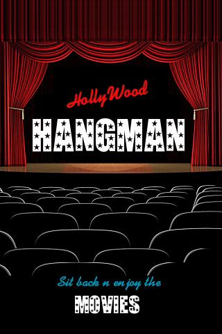 Hangman HollyWood - screenshot