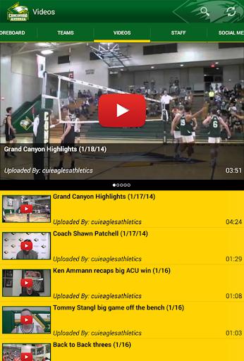 【免費運動App】Concordia University Eagles-APP點子