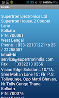 Screenshot of Service Centers India