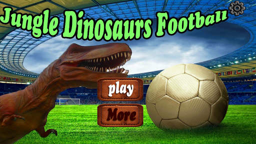 Jungle Dinosaurs Football