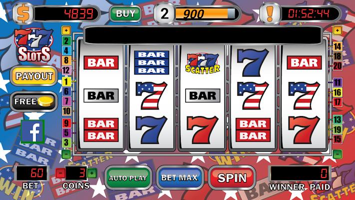 Triple 7 Cash Slot Machine - screenshot