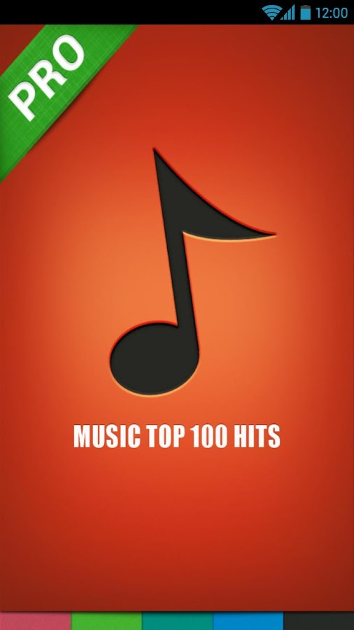 Music Top 100 Hits PRO - screenshot
