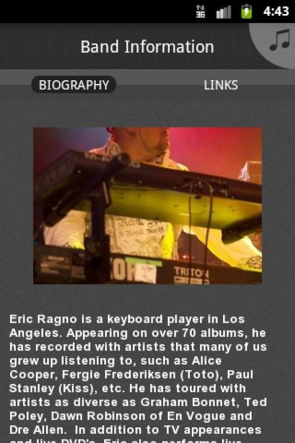 Eric Ragno - screenshot