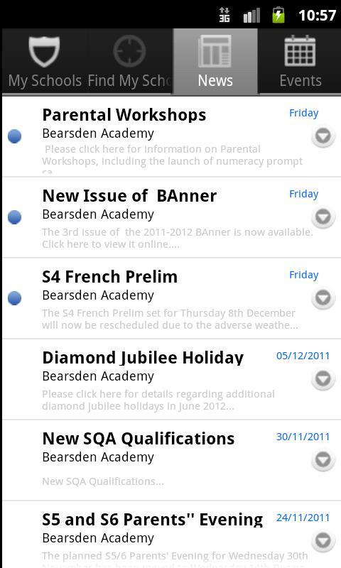 EDC Schools- screenshot