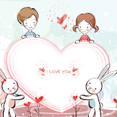 Cute Kawaii Cartoon LWP